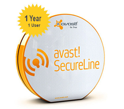 avast! SecureLine - 1 Year 1 User