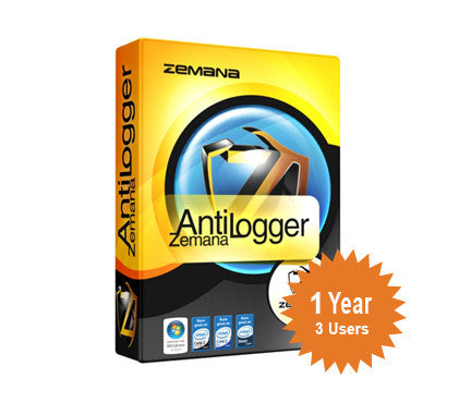 Zemana AntiLogger 1-Year 3-Users