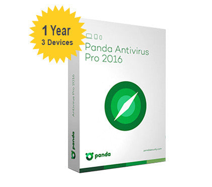 Panda Antivirus Pro 2016 - 1-Year 3-Devices