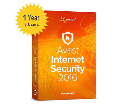 avast! Internet Security 1-Year 3-Users