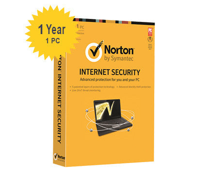 Norton Internet Security - 1 - Year 1 - PC - Global