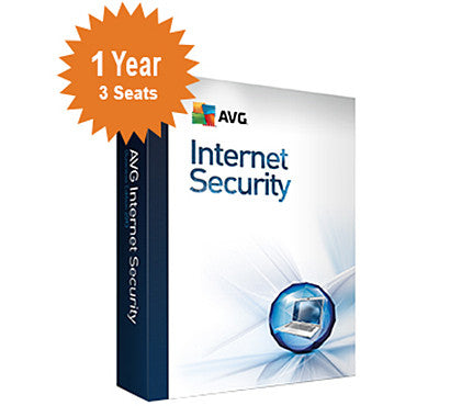 AVG Internet Security 2016 - 1-Year 3-Seats