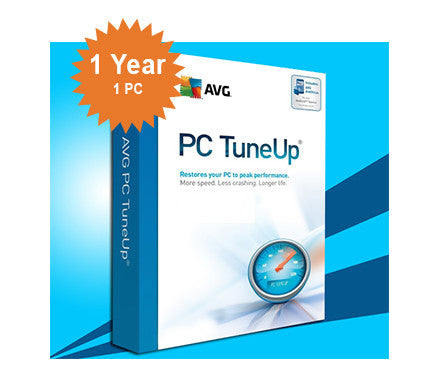 AVG PC TuneUp - 1-Year 1-PC ESD