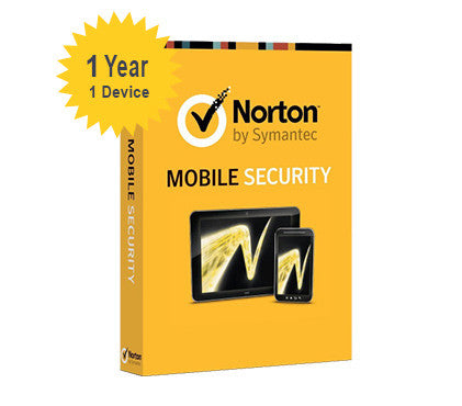 Norton Mobile Security - 1 - Year 1 - Device - Global