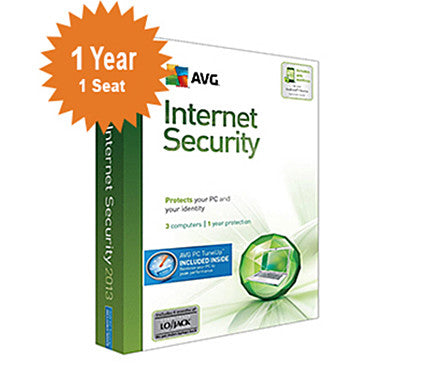 AVG Internet Security 2016 - 1-Year 1-Seat