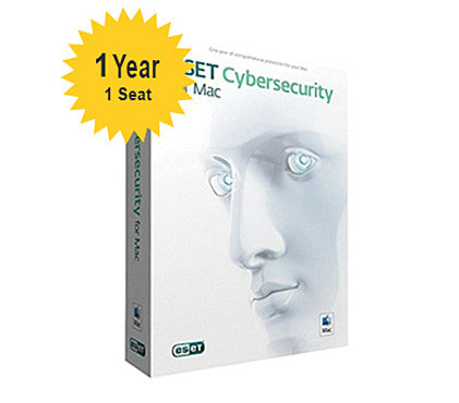 ESET Cyber Security for Mac - 1-Year 1-Seat