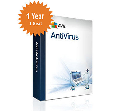 AVG AntiVirus 2016 - 1-Year 1-Seat