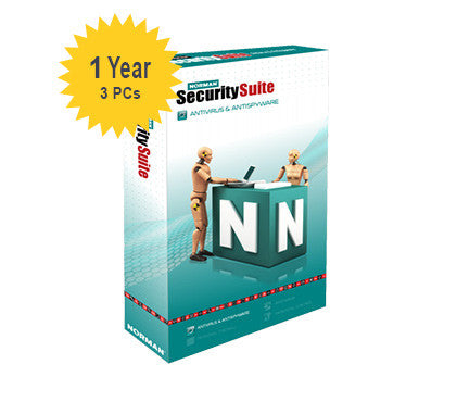 Norman Security Suite - 1-Year 3-PCs