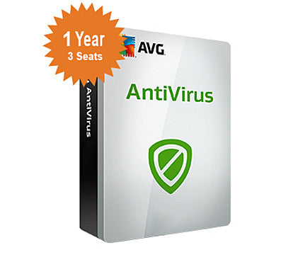 AVG Antivirus 2016 - 1 - Year 3 - Seats