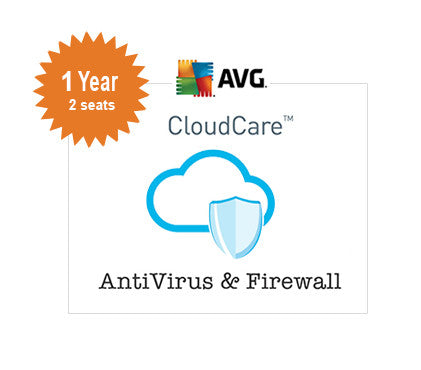 AVG CloudCare - 1 Year 2-Seats