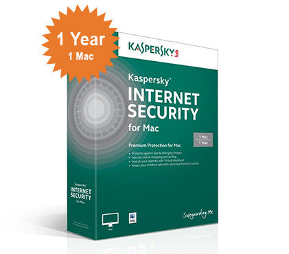Kaspersky Security for Mac - 1-Year 1-Mac - North America