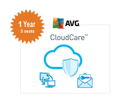 AVG CloudCare - 1 Year 3-Seats