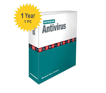 Norman Antivirus - 1-Year 1-PC