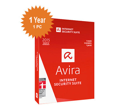 Avira Internet Security Suite - 1-Year 1-PC
