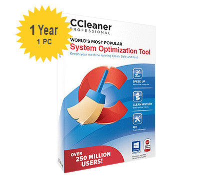Piriform CCleaner Pro - 1-Year 1 PC