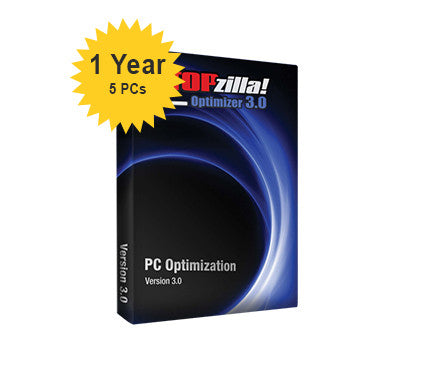 iS3 STOPzilla! Optimizer 3.0 - 1-Year 5-PCs