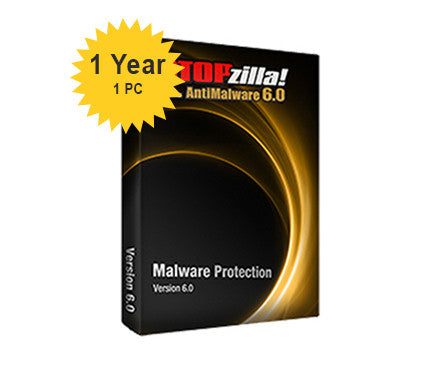 iS3 STOPzilla AntiMalware 6.0 - 1-Year 1-PC