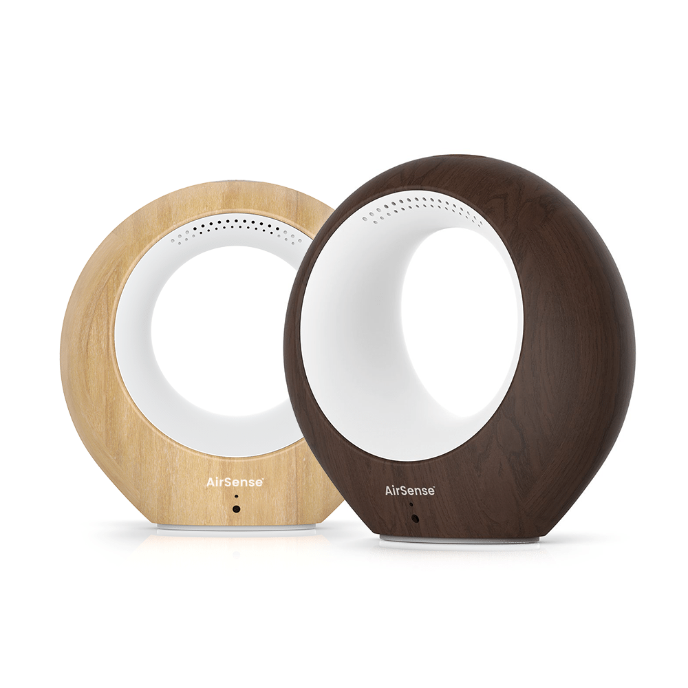 iBaby AirSense Light Wood - Smart Air Quality Monitor