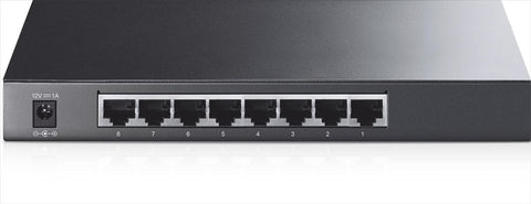 TP-LINK TL-SG2008 8-port Pure-Gigabit Desktop Smart Switch, 8 10/100/1000Mbps RJ45 ports