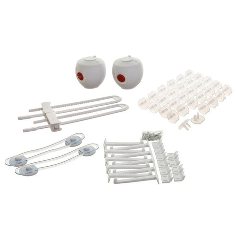 Dreambaby Home Safety Value Pack - 46 PCS - Home Safety Kit- Locks-Latches