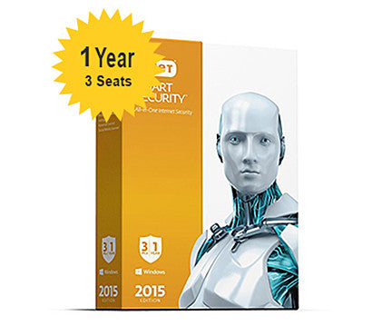 ESET - Smart Security Home - 1-Year 3-Seats
