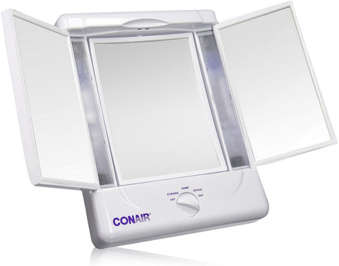 Conair Illumina Two Sided Lighted Make-Up Mirror