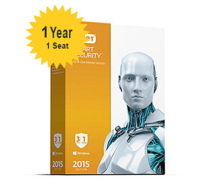 ESET Smart Security Home - 1-Year 1-Seat