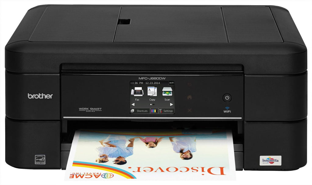 Brother MFC-J680DW Inkjet Multifunction Printer - Color - Photo Print