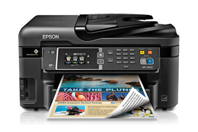 Epson WorkForce WF-3620 Inkjet Multifunction Printer - Color