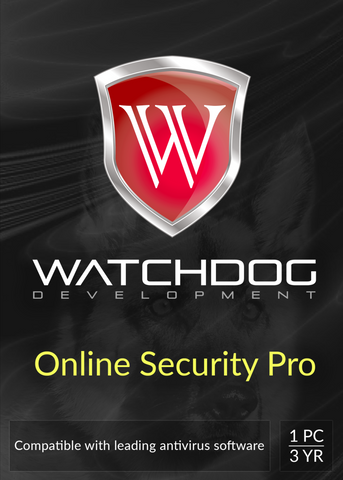 Watchdog Online Security Pro - 3-Year  1-PC