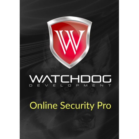 Watchdog Online Security Pro - 1-Year for 1 Device