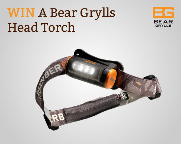 WIN A Bear Grylls Head Torch