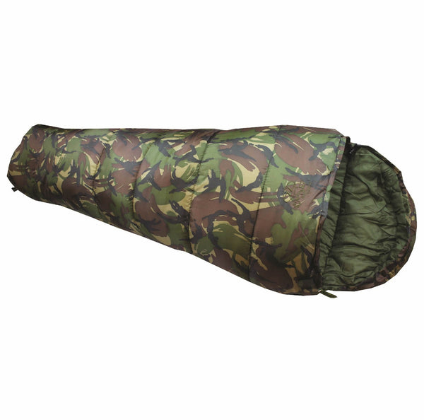 Kids Camo Sleeping Bag - Junior Cadet 350 - wildchildoutdoor