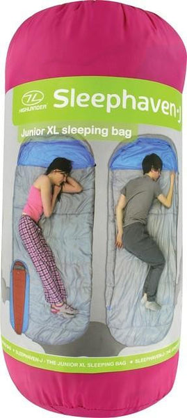 Junior Sleephaven Extra Large Sleeping Bag - wildchildoutdoor - 3
