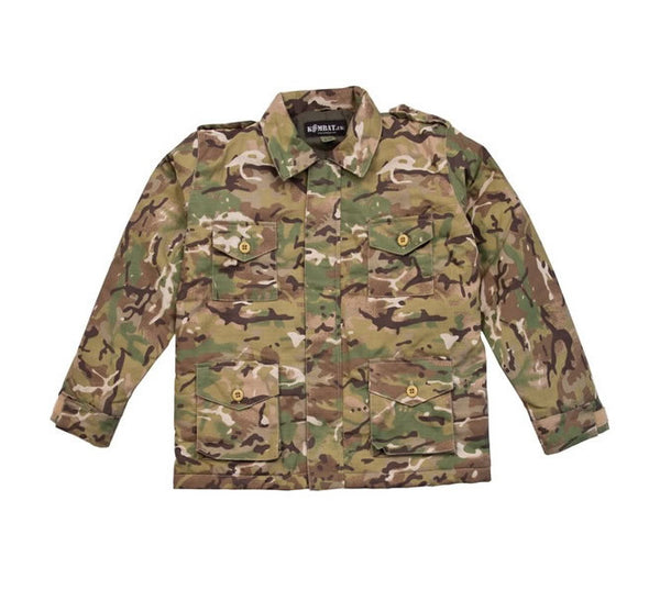 Kids Army Jacket - wildchildoutdoor - 1