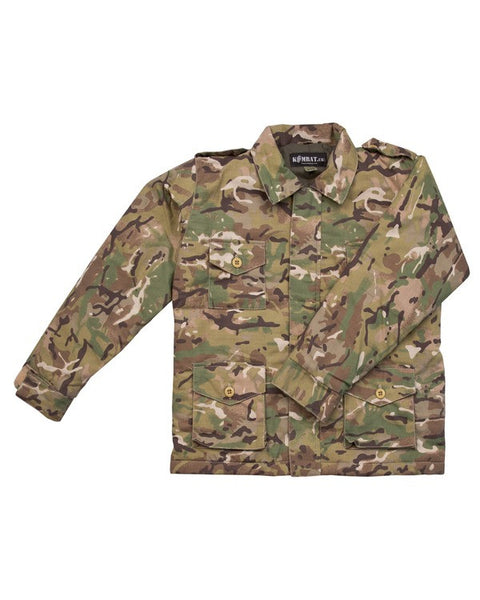 Kids Army Jacket - wildchildoutdoor - 3