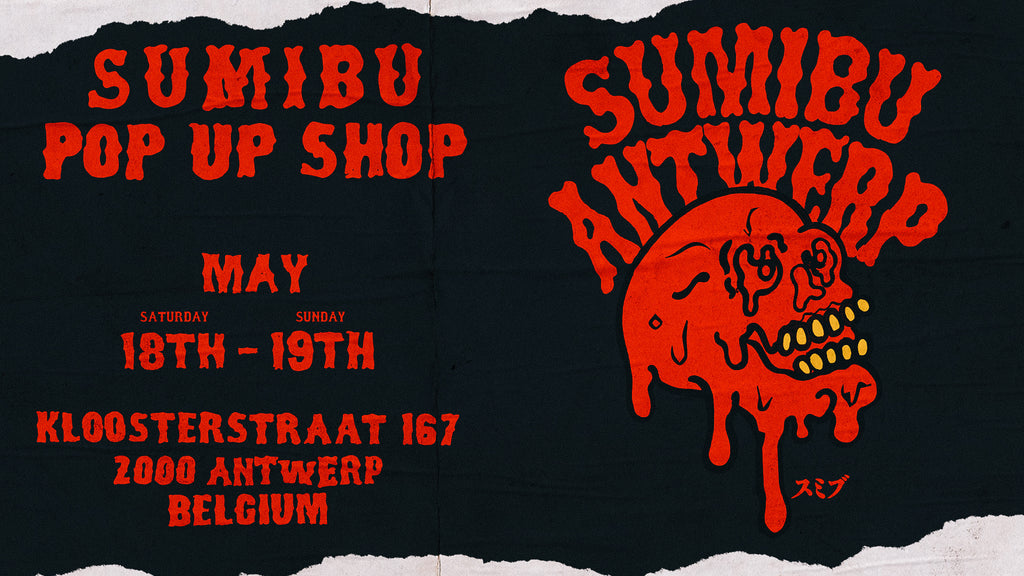 SUMIBU ANTWERP POP-UP SHOP 2019