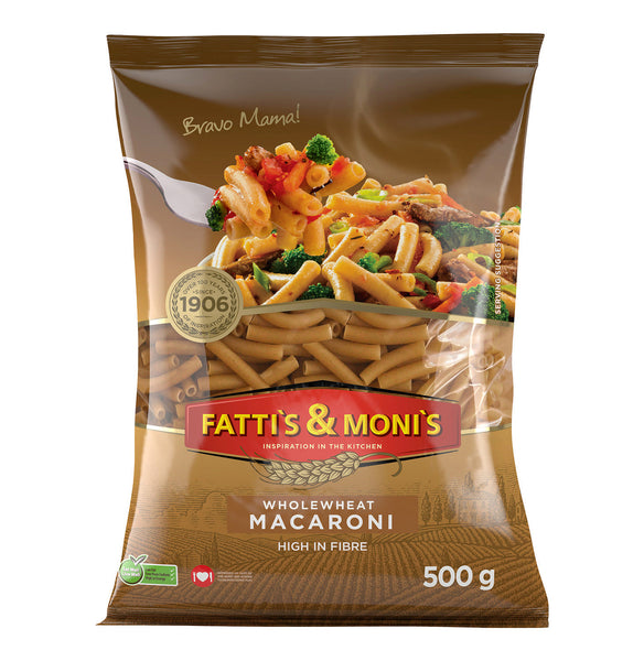 FATTI'S & MONIS - Wholewheat Macaroni 500g