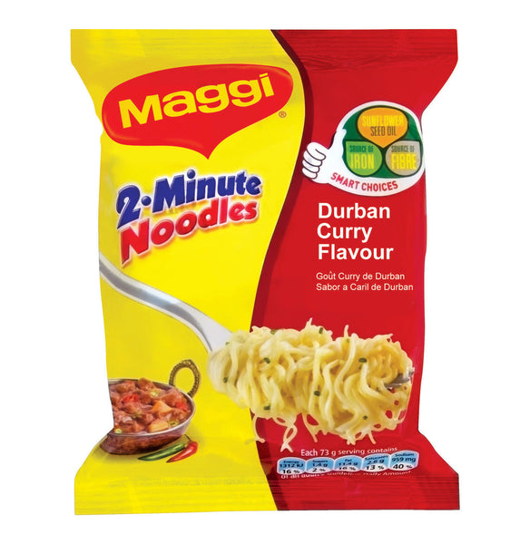 MAGGI 2-Minute Instant Noodles - Durban Curry 73g