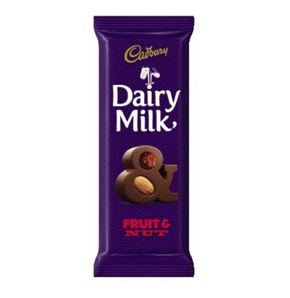 CADBURY - Dairy Milk Fruit & Nut 80g