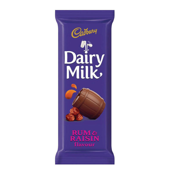 CADBURY - Dairy Milk Rum & Raisin 80g