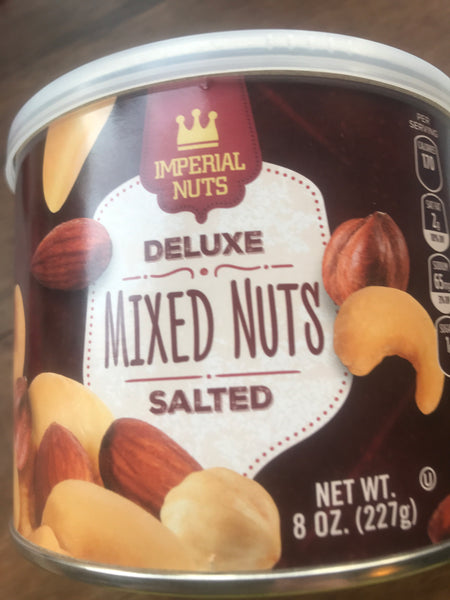 Imperial nuts mixed nuts salted 227 gr