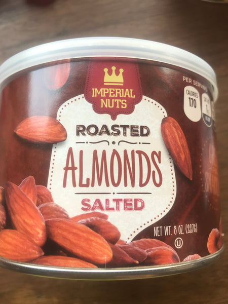 Imperial nuts almonds salted 227 gr
