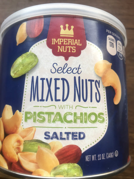 Imperial nuts mixed nuts pistachios 340 gr