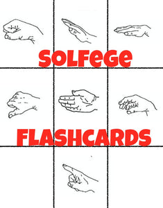 Solfege Flashcards