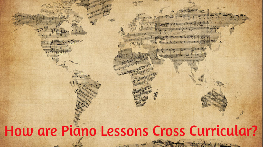 How are Piano Lessons Cross Curricular?