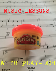 Music Lessons With Play-Doh!