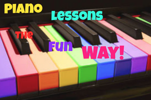 piano lessons, the fun way!