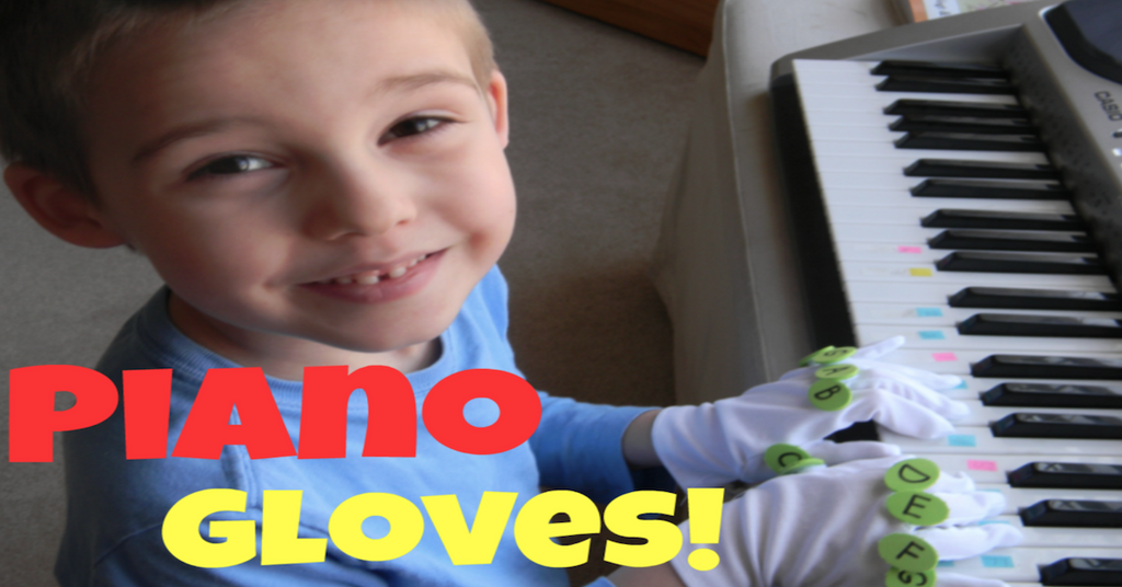 Learn Piano The Fun and Easy Way With Piano Gloves
