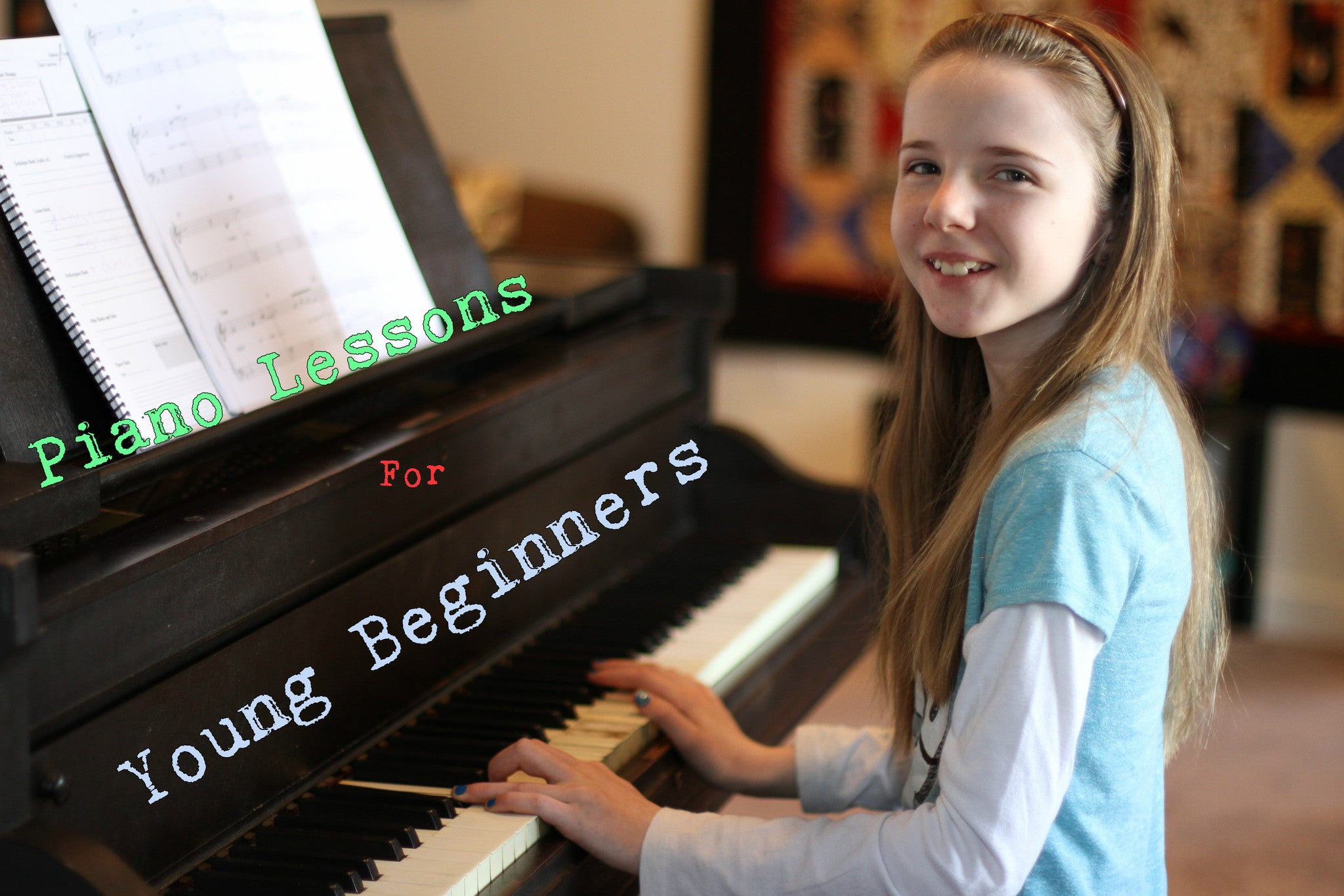 Piano Lessons for Young Beginners